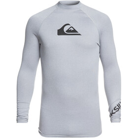 Quiksilver All Time LS Shirt Men Light Grey Heather